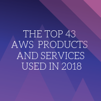 Revealed: the top 43 AWS products and services used in 2018